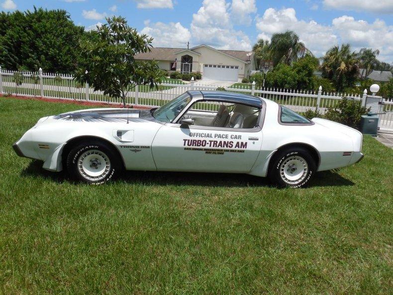 1980 Pontiac Trans Am Indy Pace Car Premier Auction