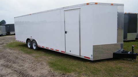"2016 Diamond Cargo 8'.5"" x 28' Enclosed"