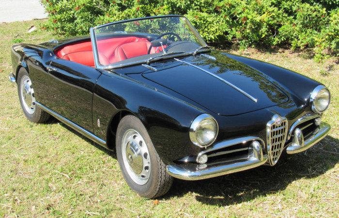 1959 Alfa Romeo Giulietta Spyder