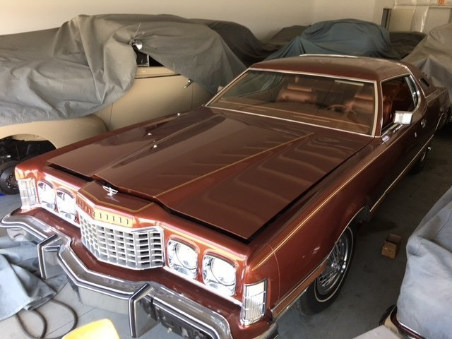 1975 Ford Thunderbird Copper Edit