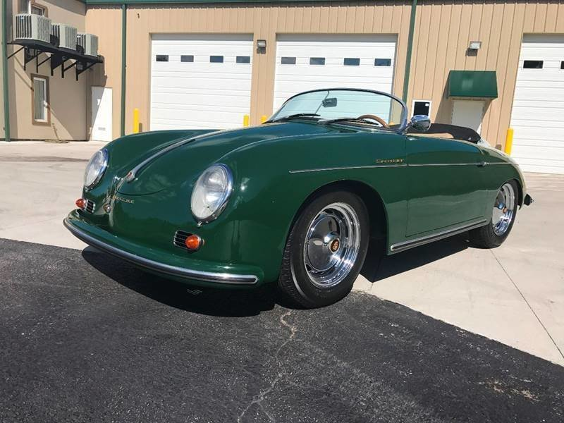Only 14,827 Actual Kilometers. 1959 Porsche 356 Speedster Tribute