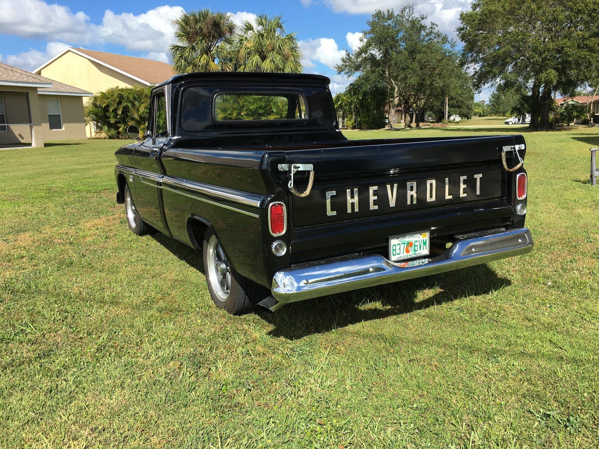 1966 Chevrolet C10 Premier Auction Pick Up Back Zoom Icon Description Specs And Options