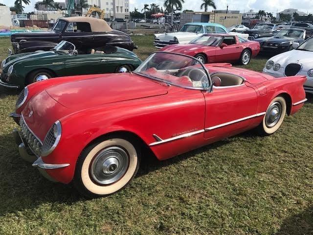 101519312dbb5 hd 1954 chevrolet corvette convertible