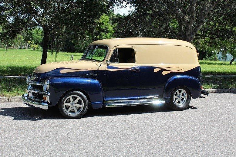 78022bcb98cd hd 1955 chevrolet 3100 custom panel van