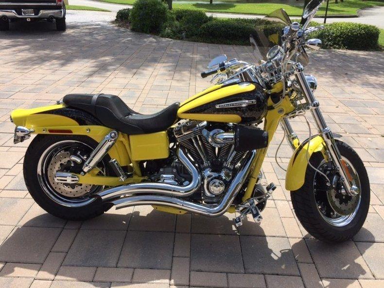 2009 Harley Davidson Fat Bob CVO
