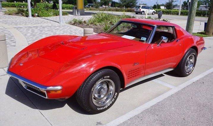 813285400af9 hd 1972 chevrolet corvette coupe