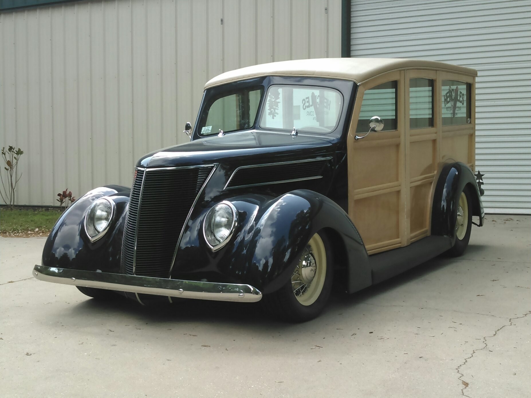 8657a68e8f22 hd 1937 ford custom woody station wagon