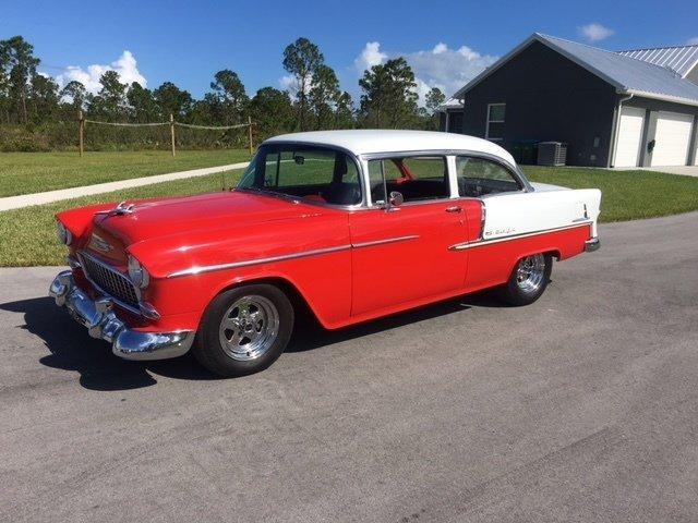 87409962a76d hd 1955 chevrolet bel air custom sedan