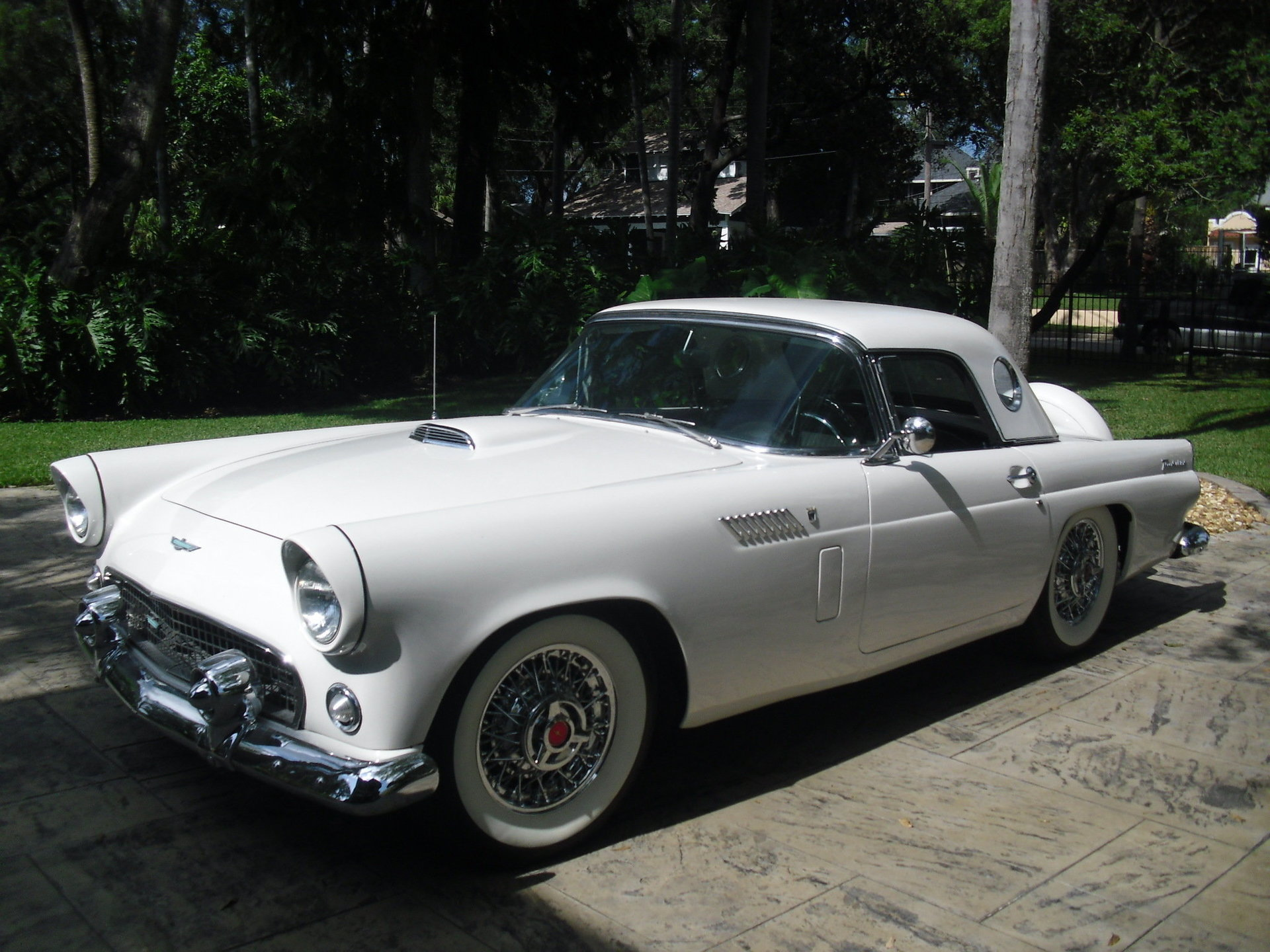 887894fc7fe1 hd 1956 ford thunderbird convertible
