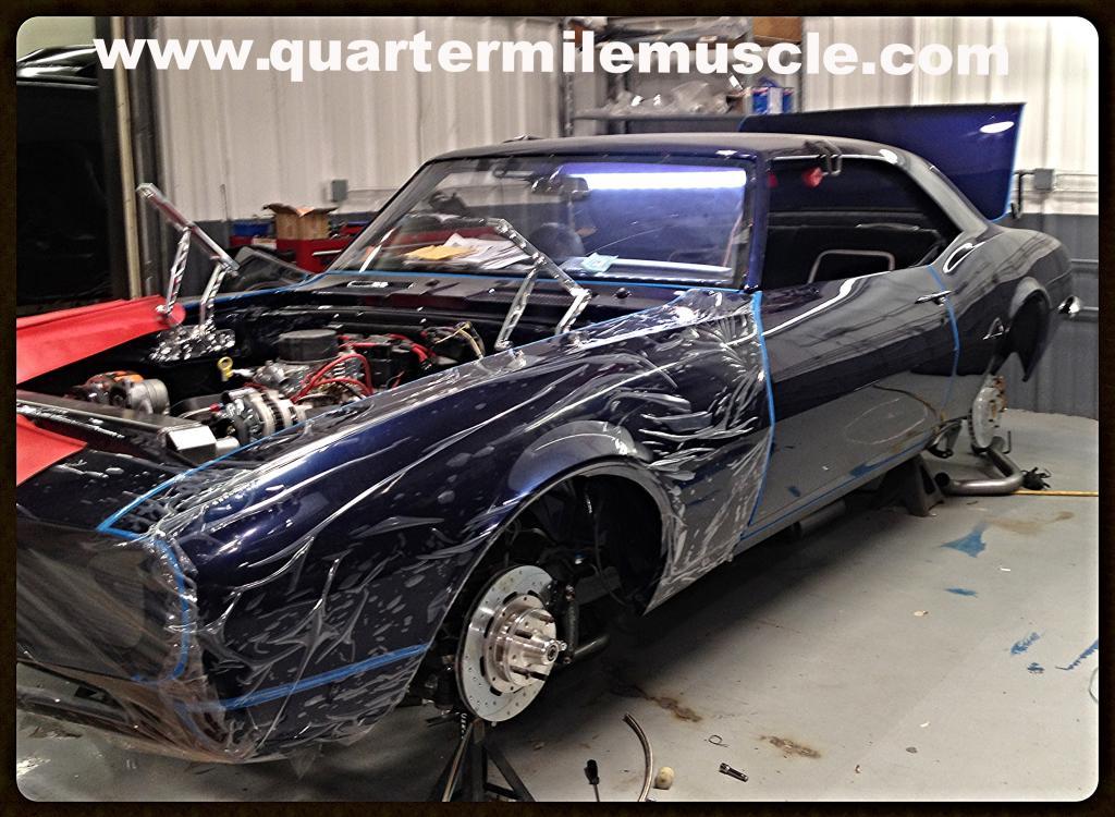 Classic Camaro Restomod by QMM