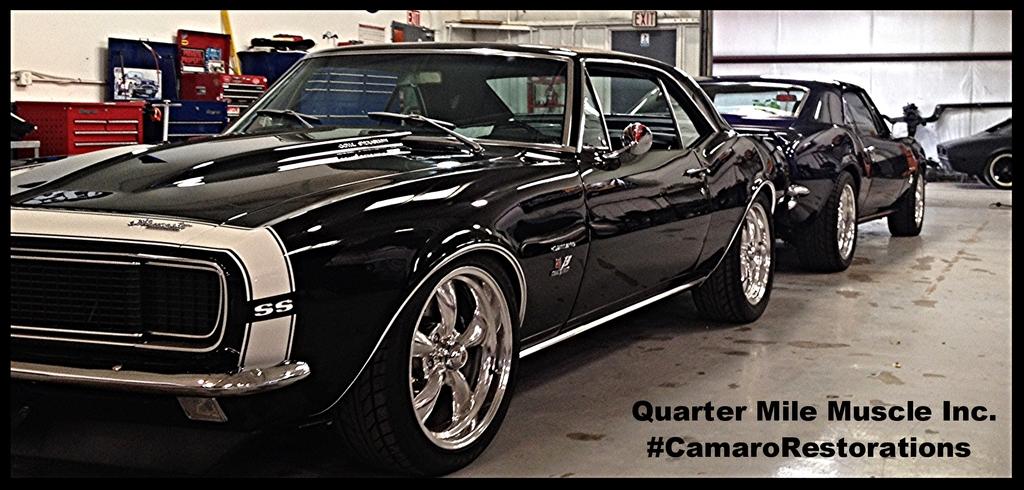 Classic Camaro Restoration in Mooresville NC