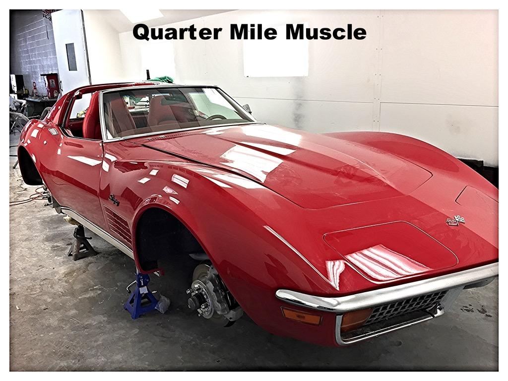 Corvette Restoration Charlotte North Carolina