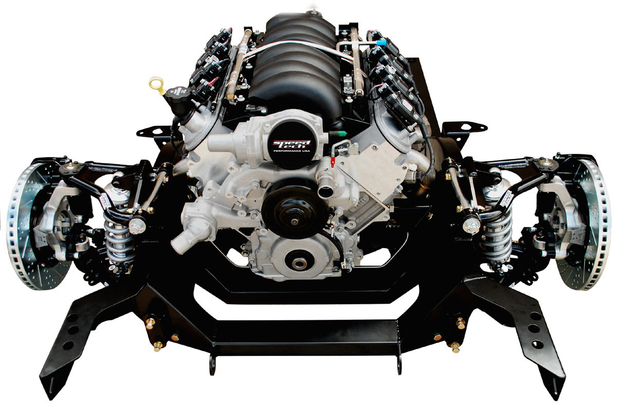 Complete chassis and engines by QMM