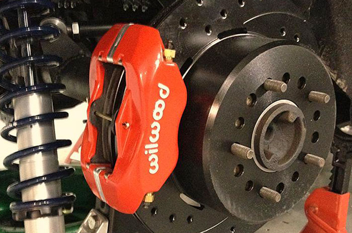 Disck Brakes and Coil over suspension