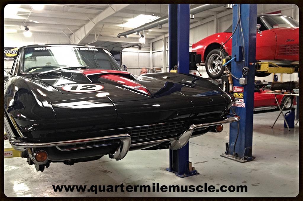 Classic Corvette Restoration in NC