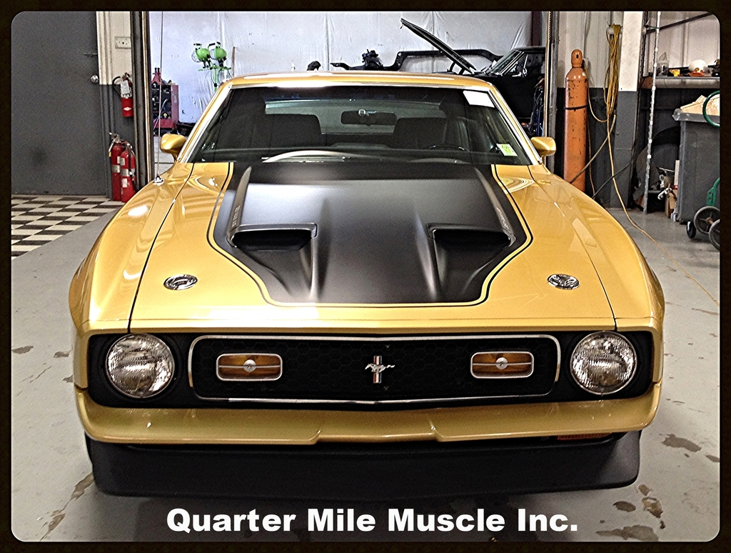 Classic Car Paint Jobs Quarter Mile Muscle Inc