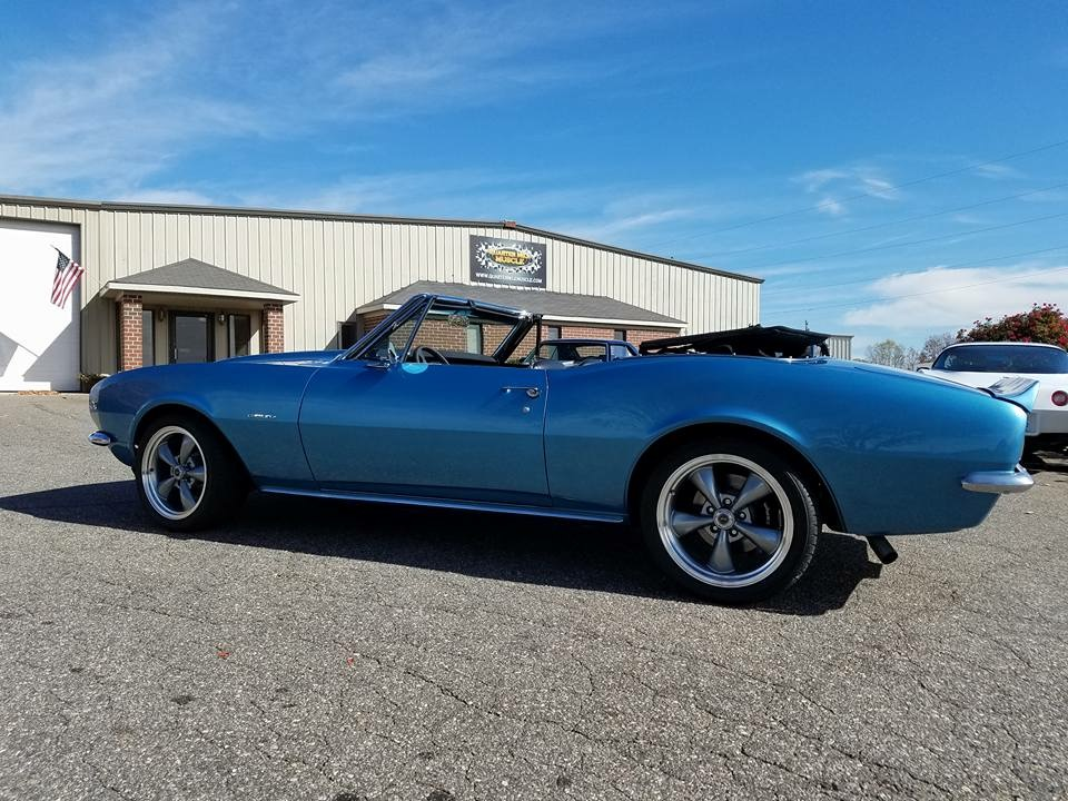 67 Camaro restomod by QMM