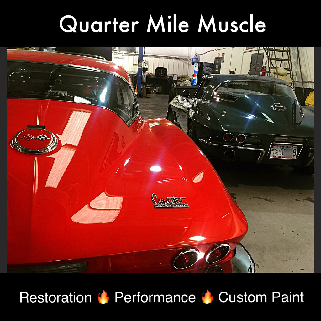Corvette Restoration Charlotte North Carolina