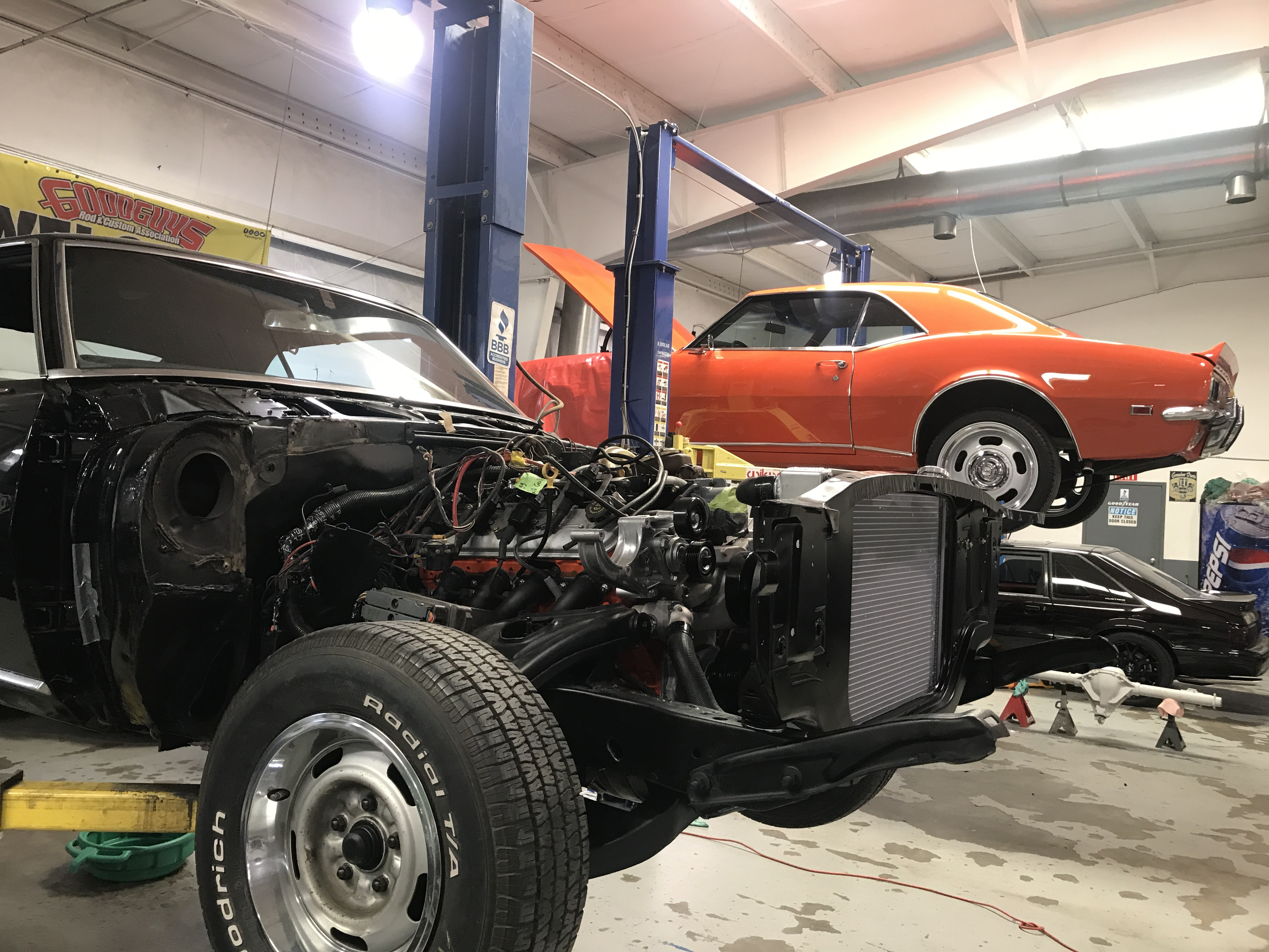 Restomod Shop in North Carolina