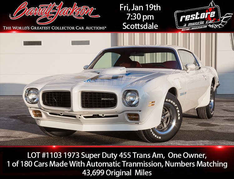 1973 Pontiac Trans Am SD