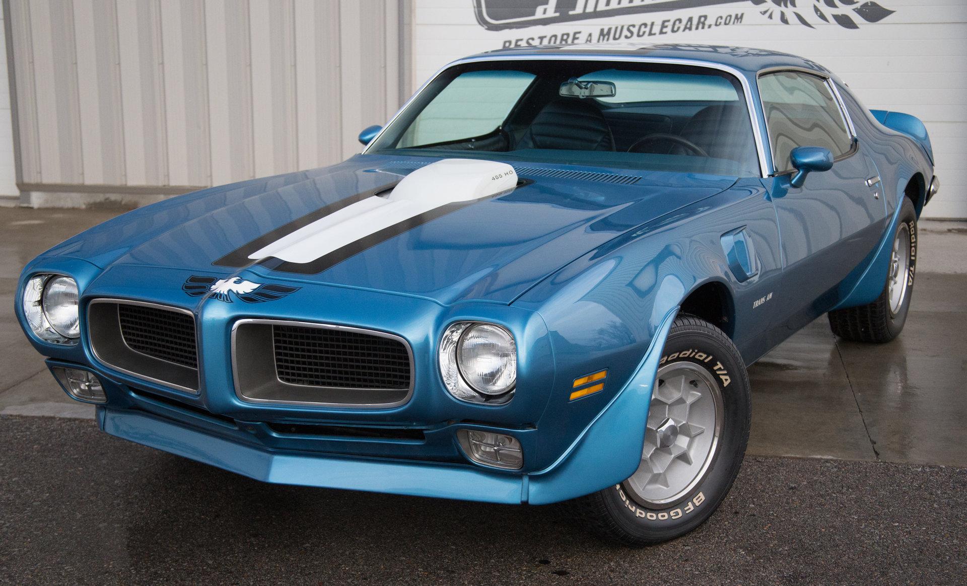 1971 pontiac trans am 455 ho restore a muscle car llc. Black Bedroom Furniture Sets. Home Design Ideas