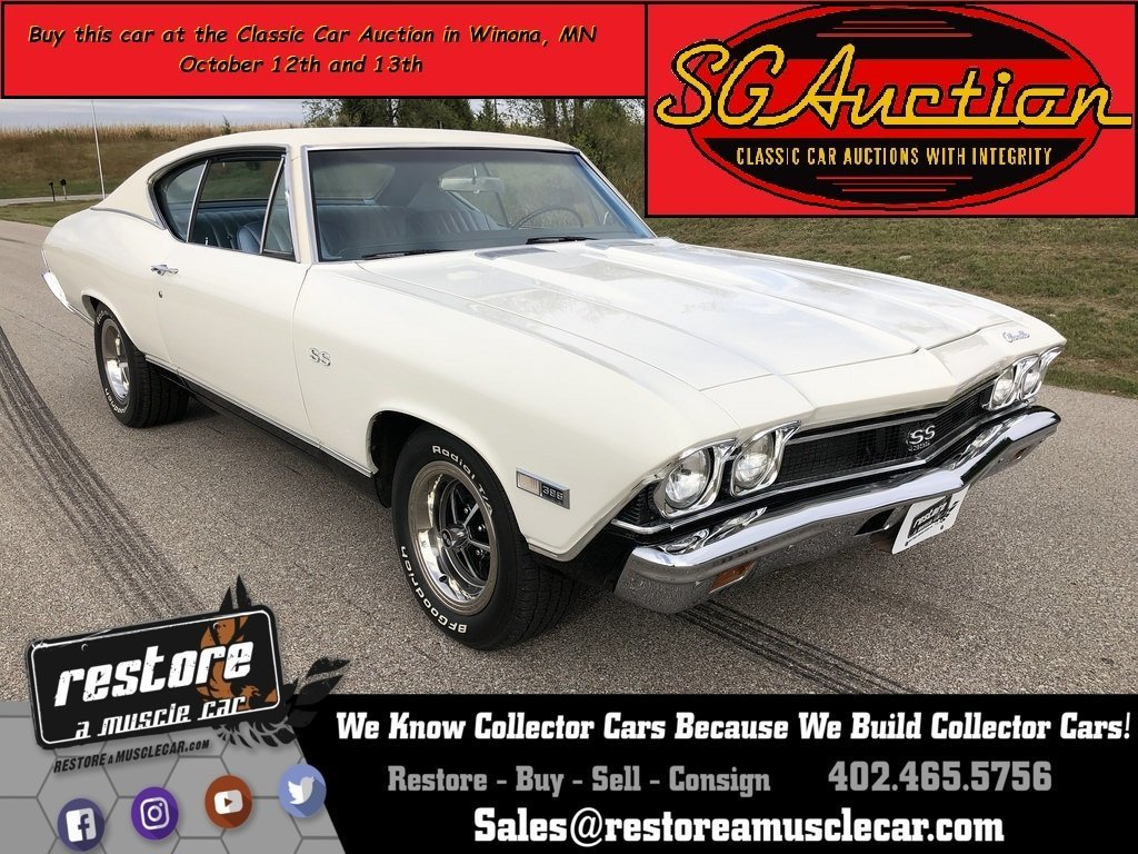 1968 Chevelle SS 396 - 4spd, Numbers Matching, Excellent Condition