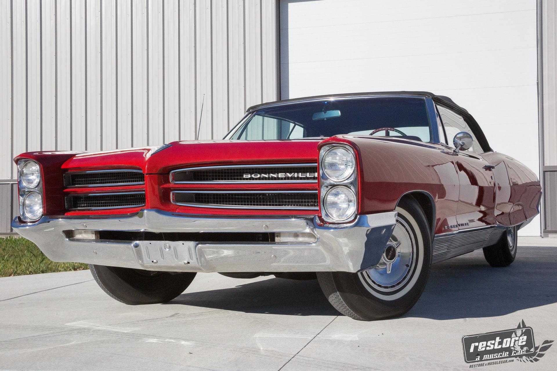 1966 pontiac bonneville restore a muscle car llc. Black Bedroom Furniture Sets. Home Design Ideas