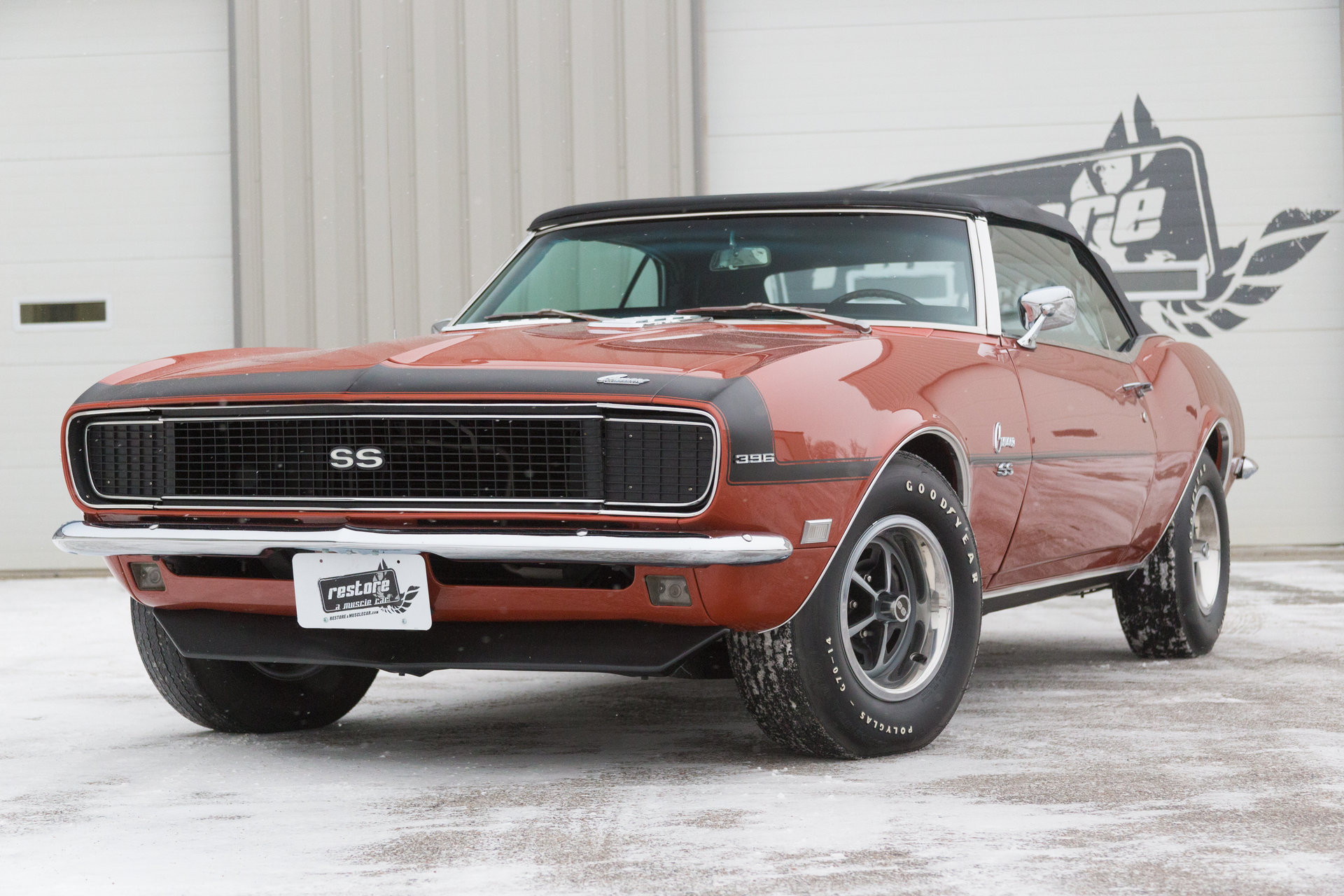 1968 Chevrolet Camaro Restore A Muscle Car Llc Rs Ss