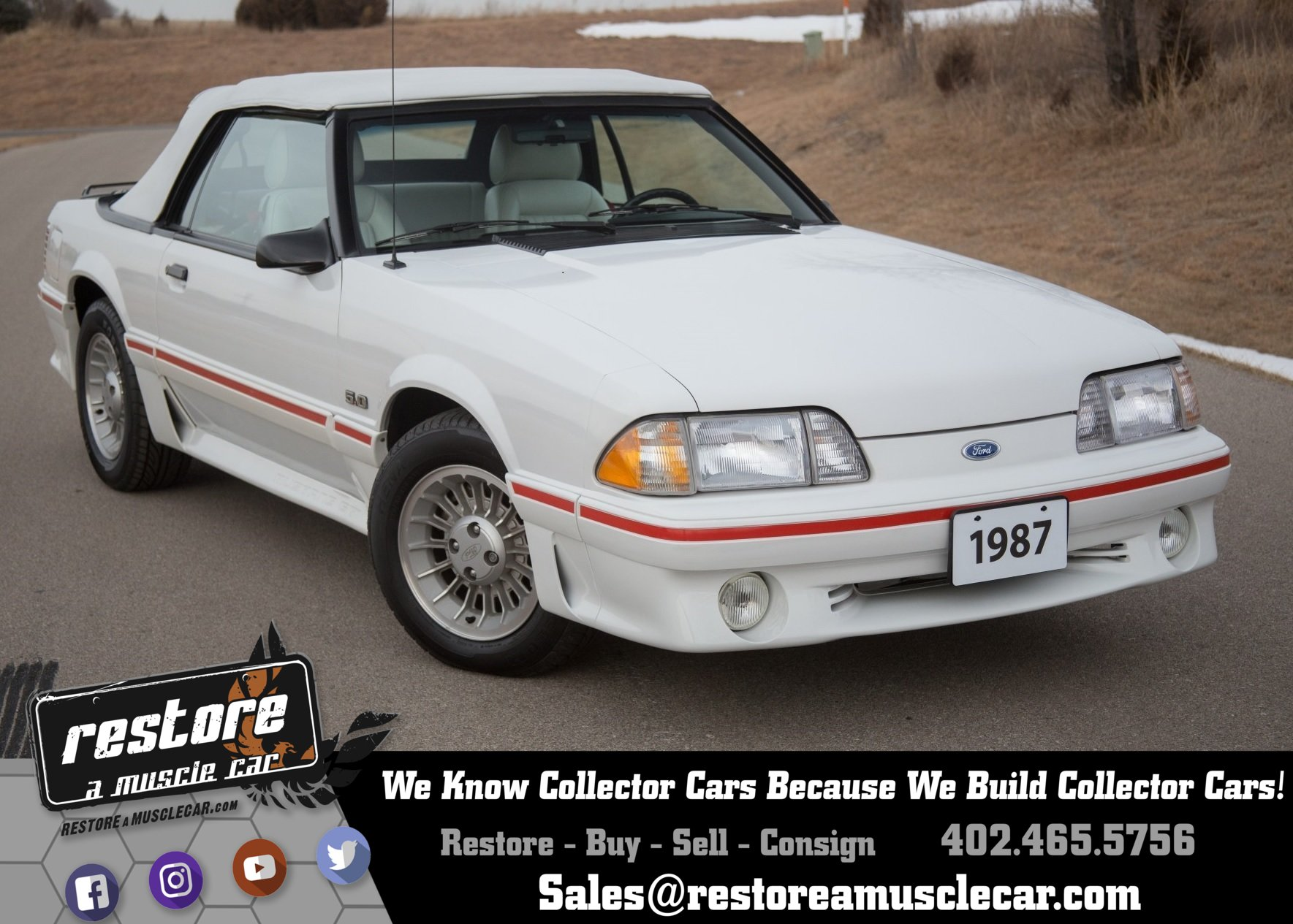 254000447c391 hd 1987 ford mustang
