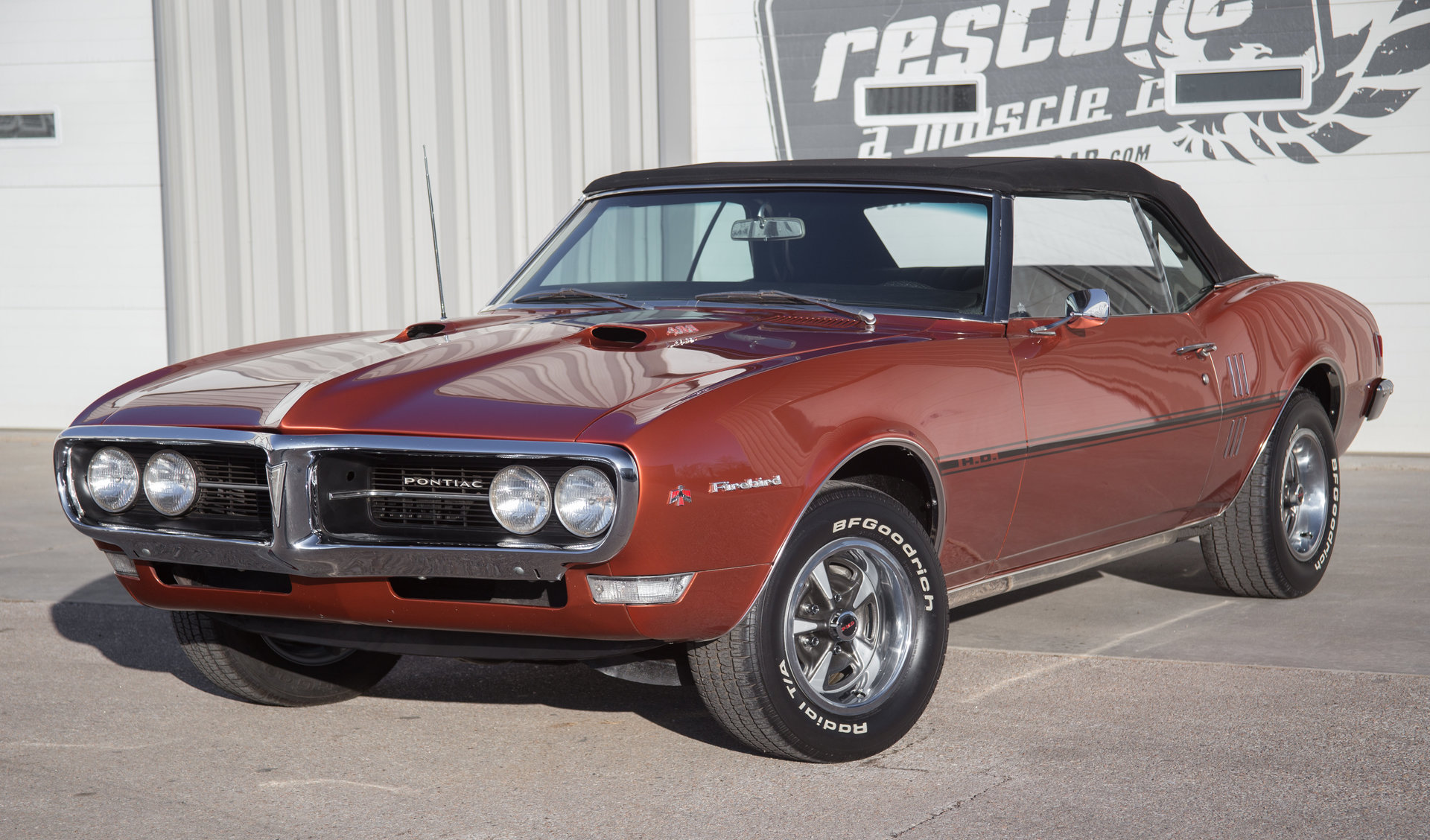 1968 Pontiac Firebird | Restore A Muscle Car™ LLC