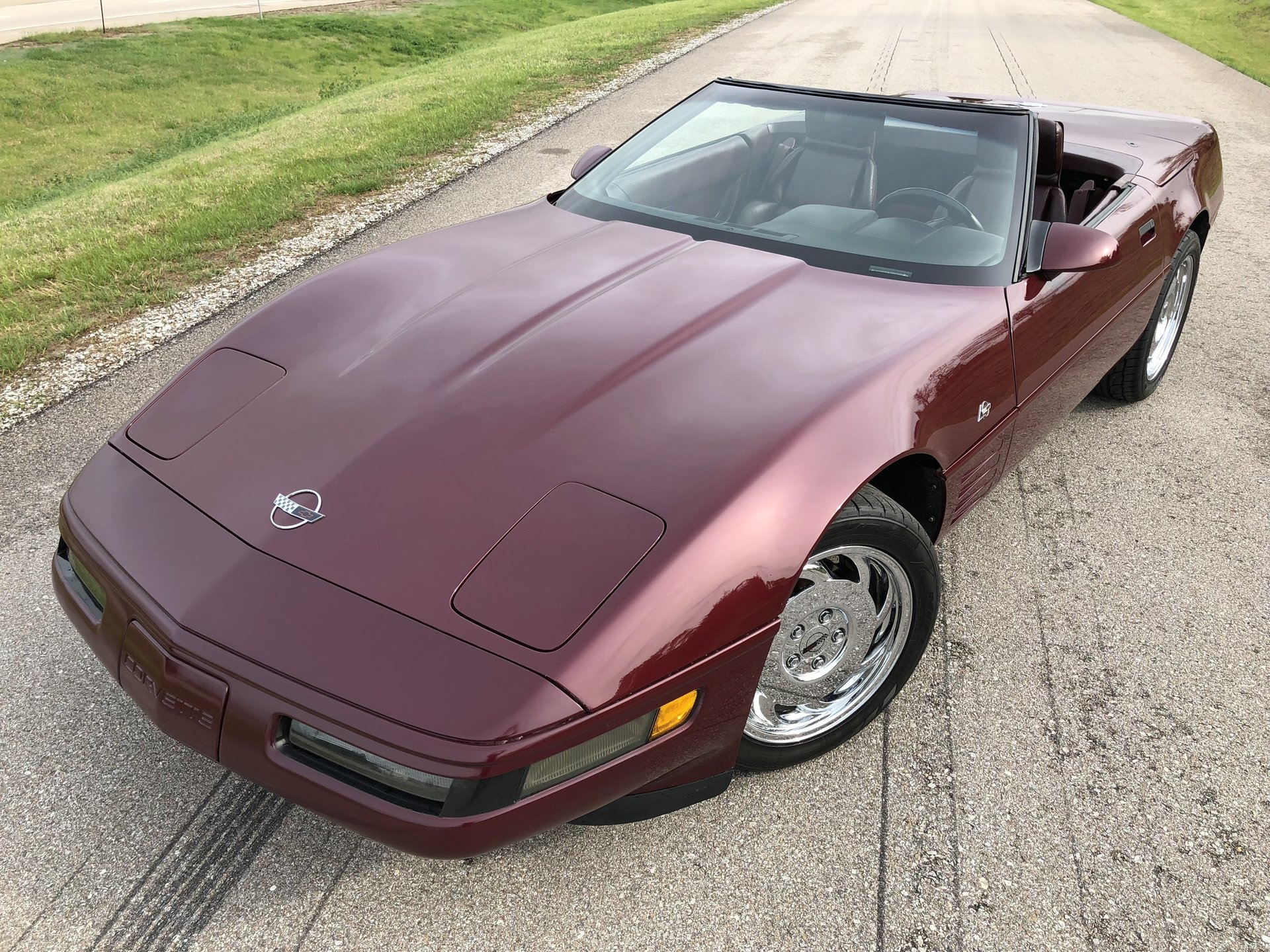 222735204a122 hd 1993 chevrolet corvette