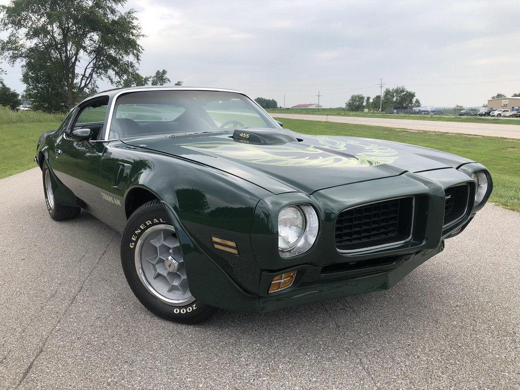 1973 Pontiac Trans Am For Sale 88900 Mcg Specs