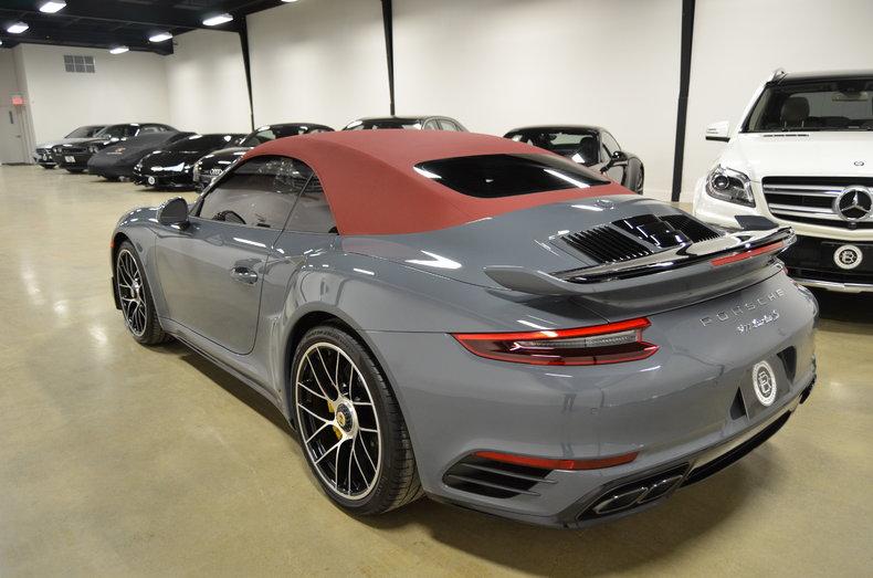 2017 porsche 911 turbo s cabriolet for sale 51819 mcg. Black Bedroom Furniture Sets. Home Design Ideas