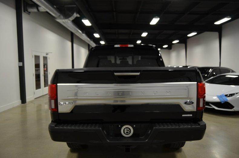 2018 Ford F150 Platinum For Sale 72941 Mcg