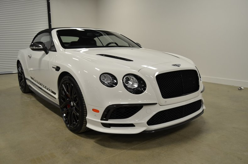 2018 bentley continental supersports convertible for sale 83475 mcg. Black Bedroom Furniture Sets. Home Design Ideas
