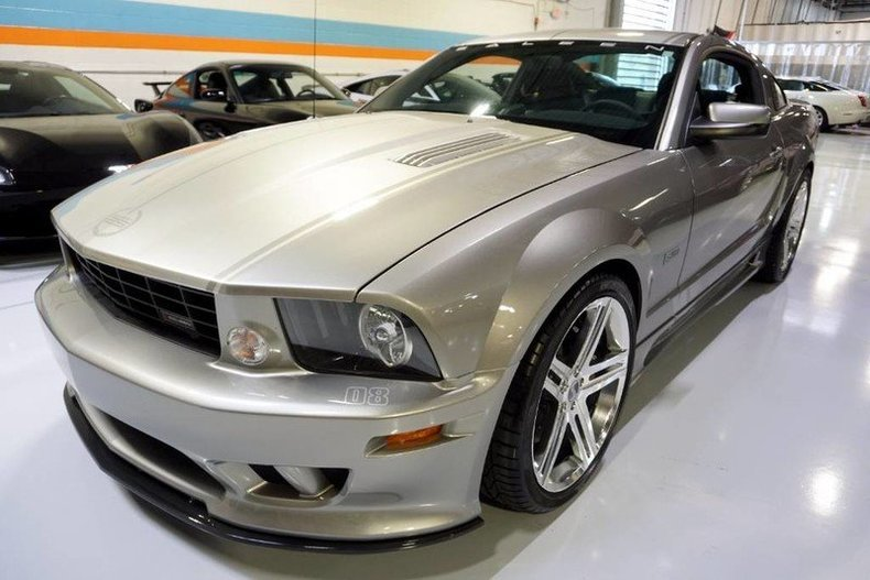 2008 ford mustang saleen s302e sterling extreme for sale 65528 mcg. Black Bedroom Furniture Sets. Home Design Ideas