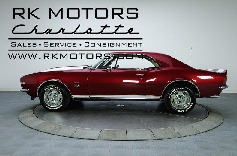 132203 1967 Chevrolet Camaro Rk Motors Classic And