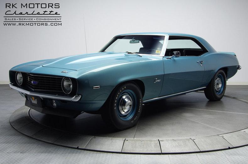 132495 1969 Chevrolet Camaro Rk Motors Classic And