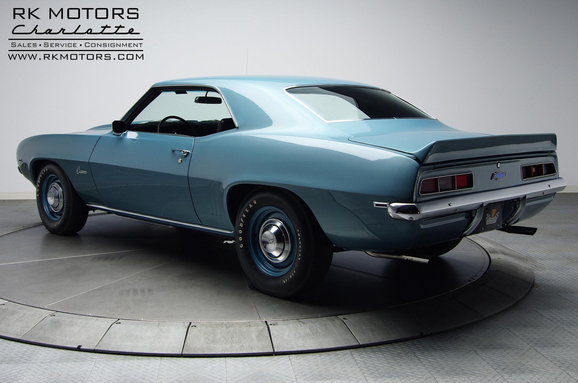 132495 1969 Chevrolet Camaro Rk Motors Classic Cars For Sale