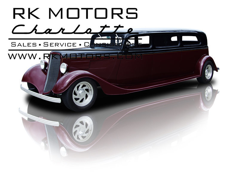 For Sale 1934 Ford Sedan Limousine