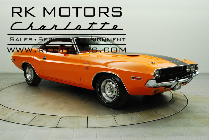 132221 1970 Dodge Challenger Rk Motors Classic And