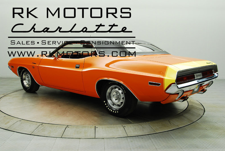132221 1970 Dodge Challenger Rk Motors Classic And