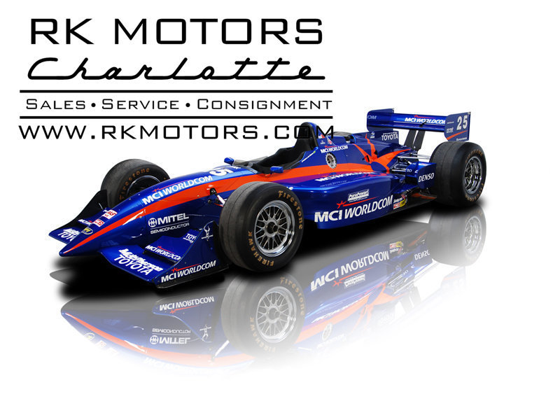 For Sale 2000 Toyota Pioneer/MCI Worldcom Indy Car No. 97