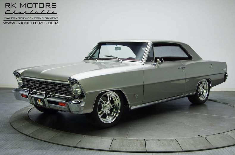 132593 1967 chevrolet nova rk motors classic and performance cars for sale. Black Bedroom Furniture Sets. Home Design Ideas
