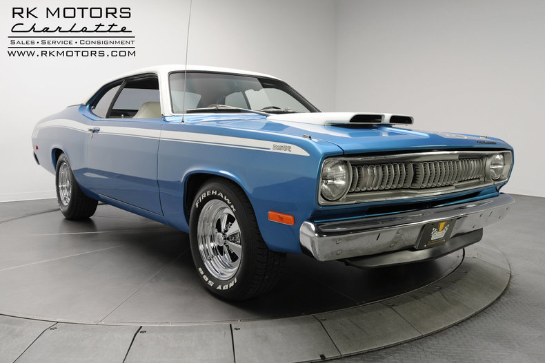 132619 1972 Plymouth Duster Rk Motors Classic And