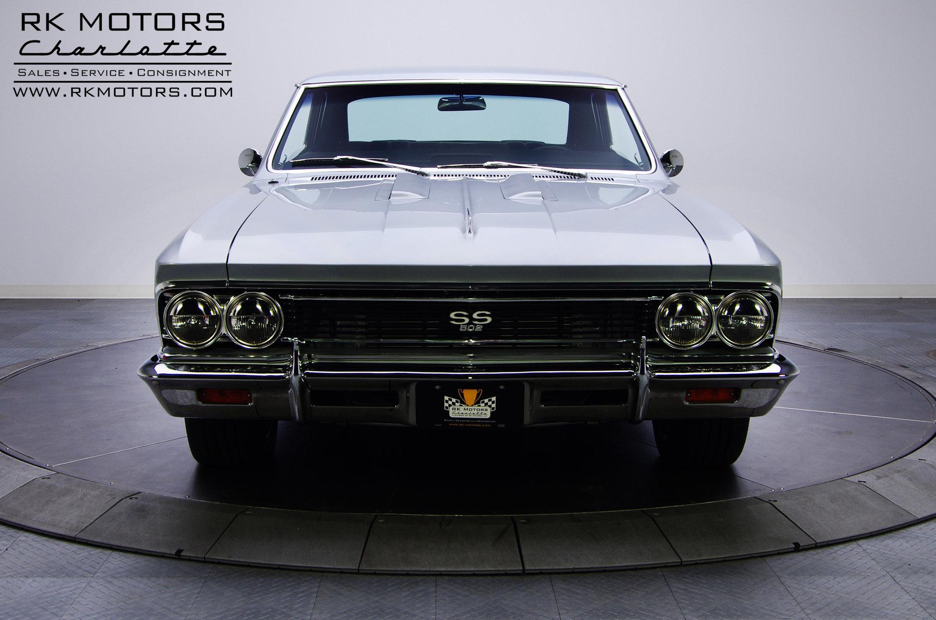 132629 1966 Chevrolet Chevelle Rk Motors Classic Cars For Sale Super Sport