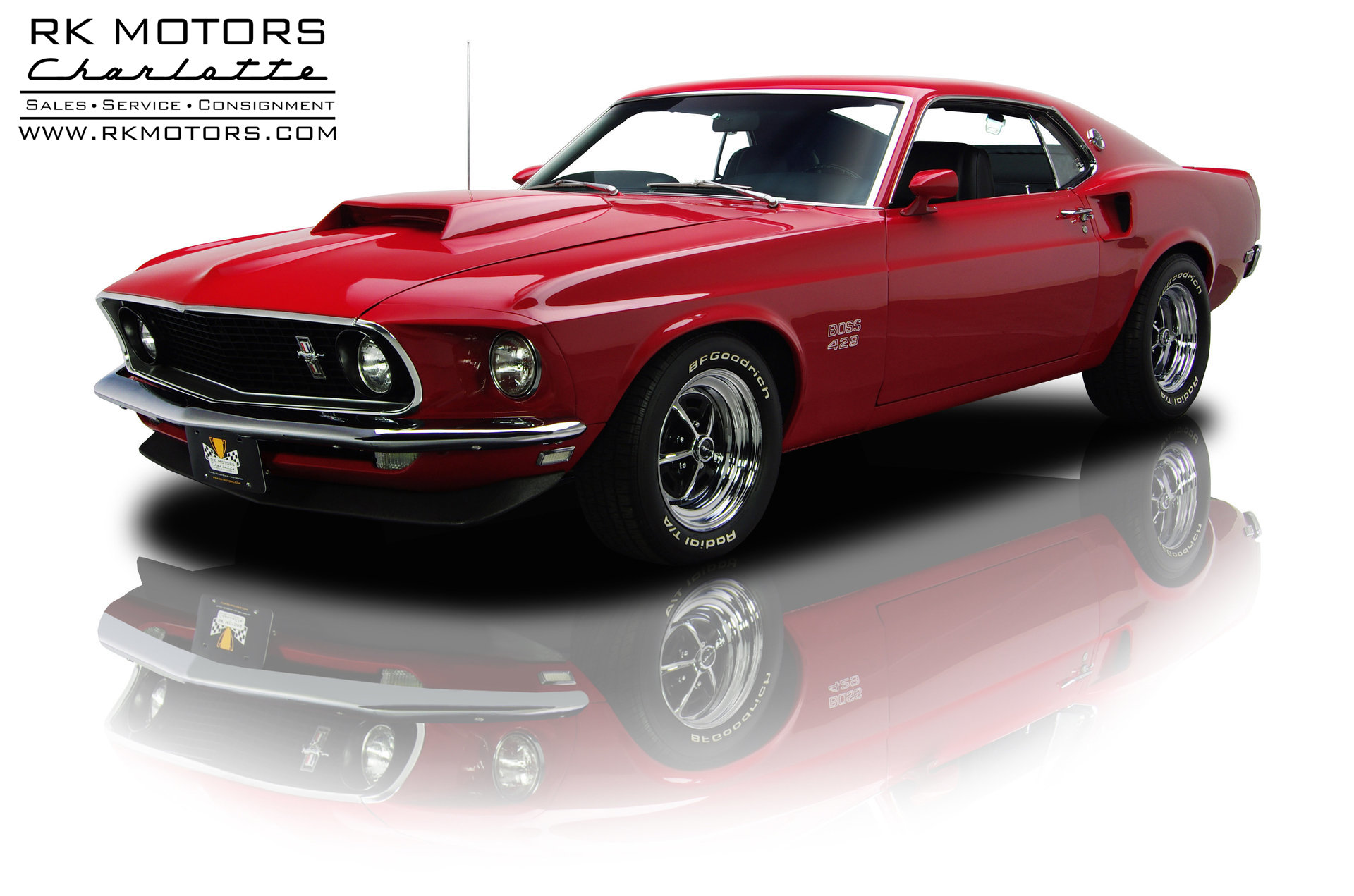 132700 1969 Ford Mustang | RK Motors Classic and Performance Cars ...