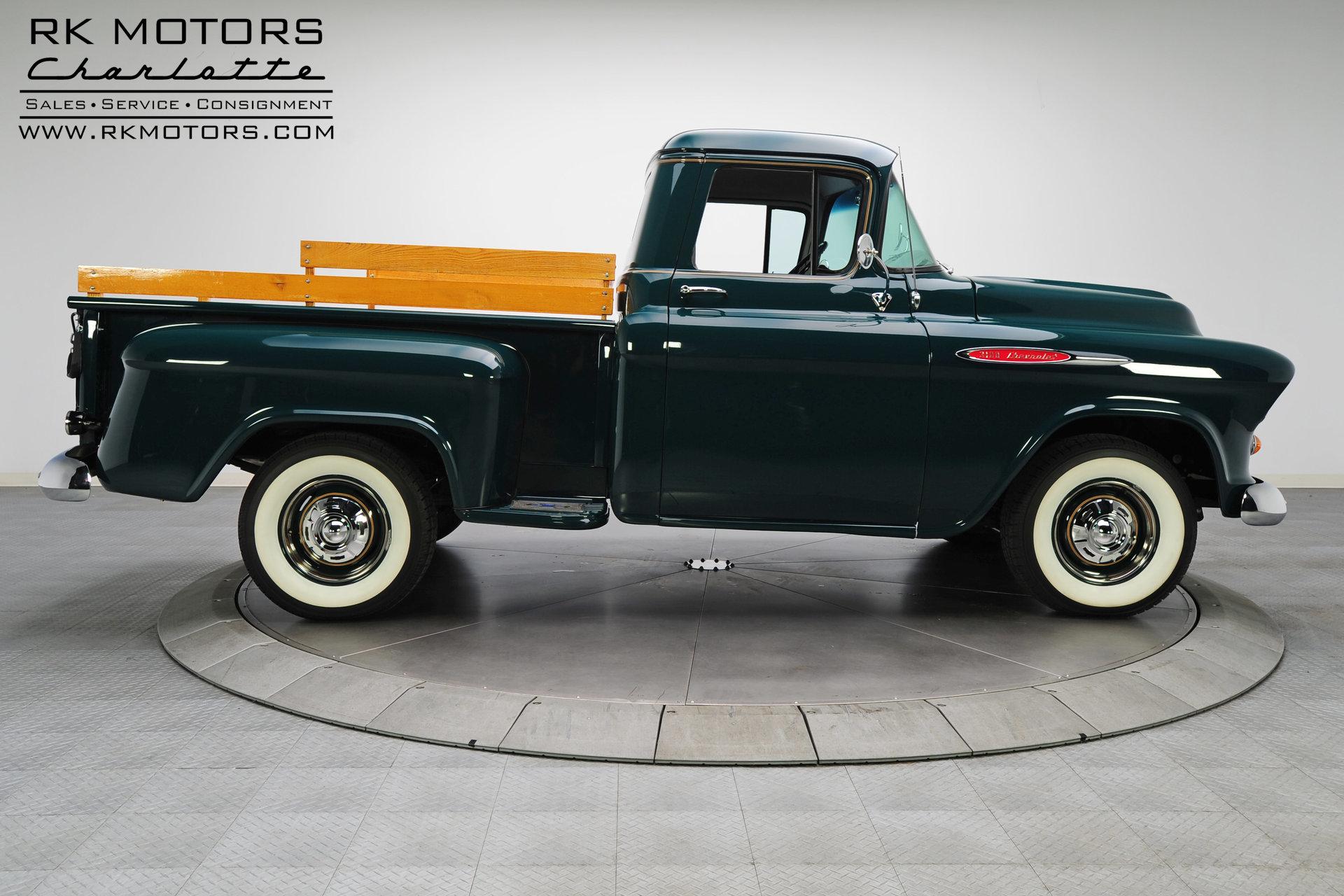 132767 1957 Chevrolet 3100 Rk Motors Classic Cars For Sale Chevy 4 Door Truck