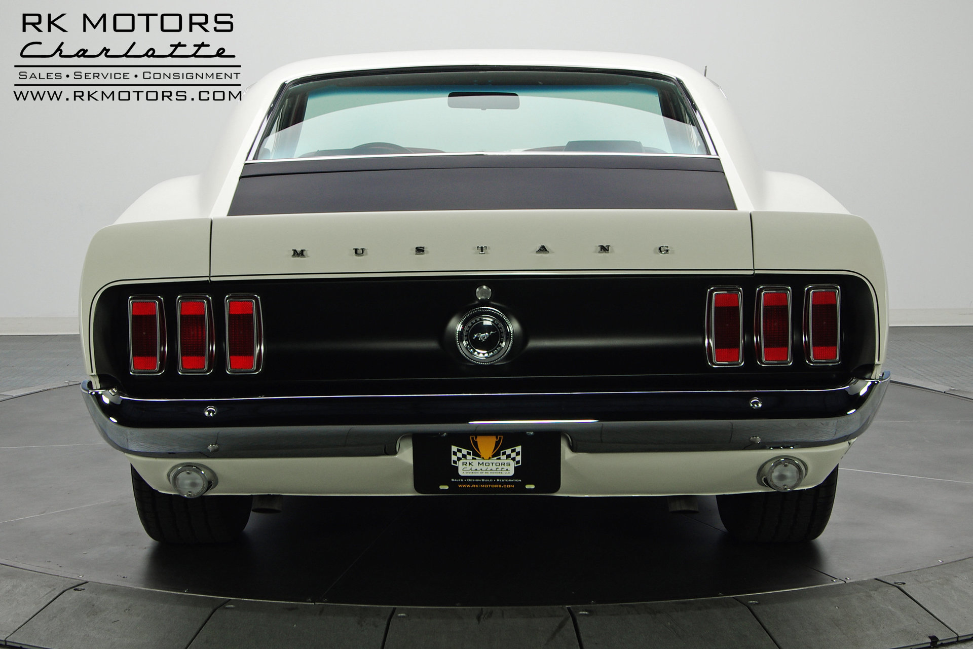 132780 1969 Ford Mustang Rk Motors Classic And Performance Cars Msrp For Sale