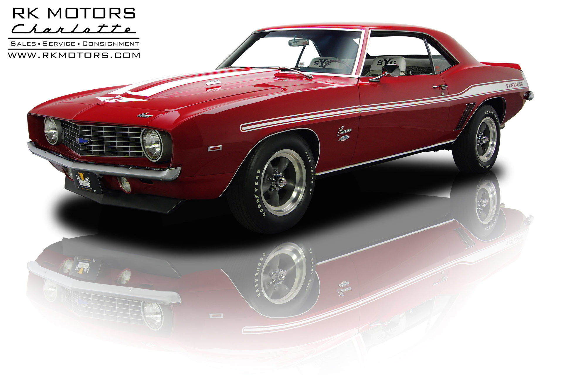 132787 1969 Chevrolet Camaro Rk Motors Classic And Performance 1968 Yenko For Sale